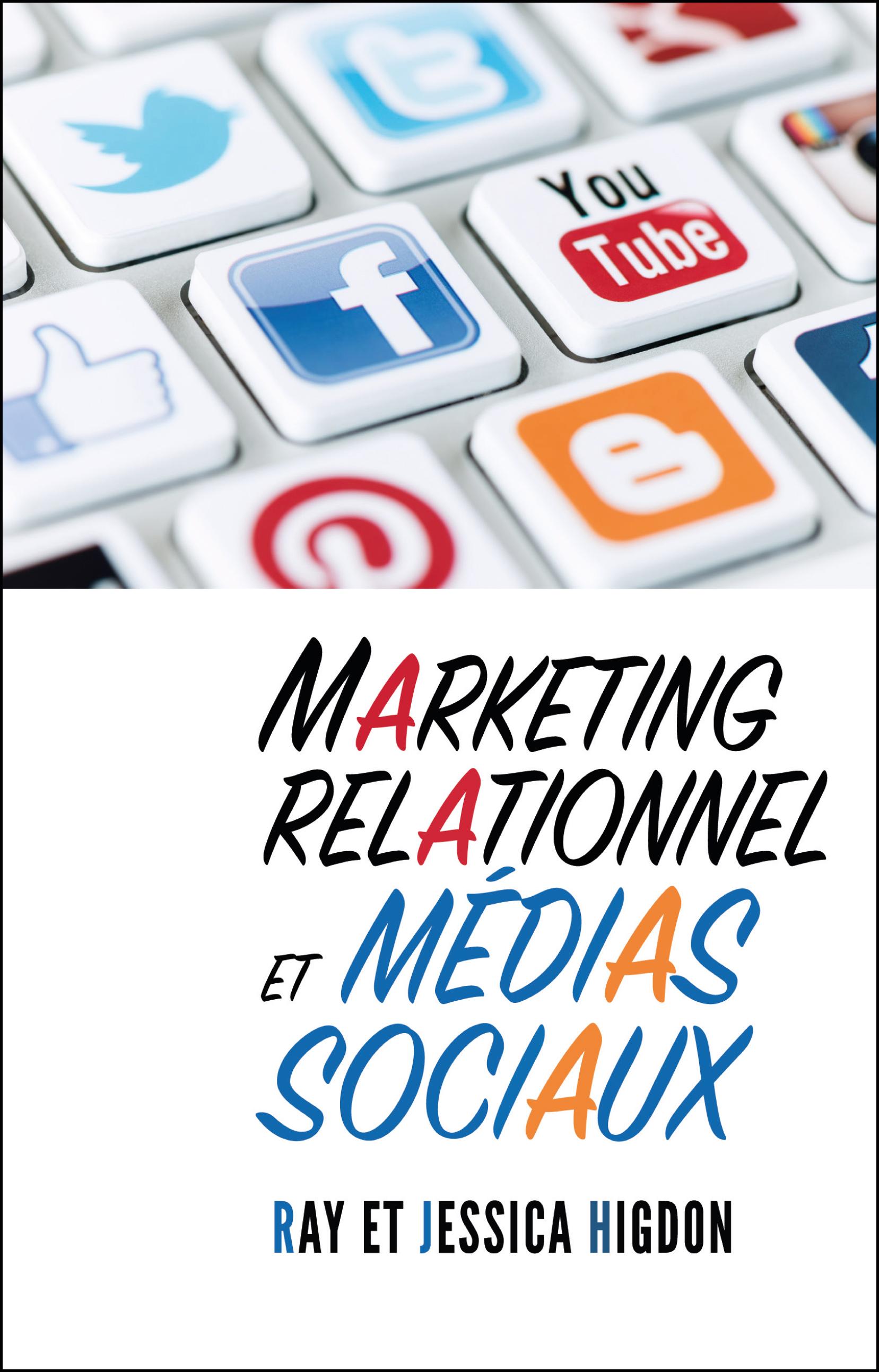 Marketing relationnel et médias sociaux Couverture du livre